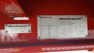 New & Unused 2019 Montracon Lowloader. BPW Axles, Drum Brakes, Keruing Floor, 17.5 Inch Wheels, Lift Axles, 26 x Outriggers, Hydraulic Flip Toe Ramps, Lashing Rings/Ferry Rings.