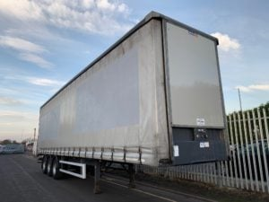 2015 Concept Curtainsider. 4.75m External Height, BPW Axles, Drum Brakes, Wisa Deck Floor, Barn Doors, Pillarless, Raise Lower Valve Facility.