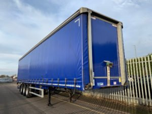 2017 Montracon Curtainsider. 4.2m External Height, 2.67m Internal Height, SAF Axles, Drum Brakes, Wisa Deck Floor, Barn Doors, 4 x Side Posts, 1 x Toolbox.
