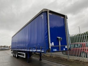 2014 Montracon Curtainsider. 4.2m External Height, 2.67m Internal Height, BPW Axles, Drum Brakes, Wisa Deck Floor, Barn Doors, 4 x Side Posts, Raise Lower Valve Facility.