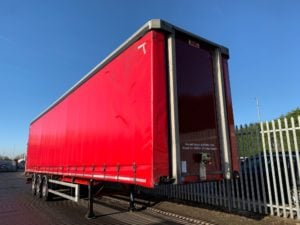 2016 SDC Curtainsider. 4.47m External Height, 2.93m Internal Height, BPW Axles, Drum Brakes, Keruing Floor, Barn Doors, 4 x Side Posts, Raise Lower Valve Facility.