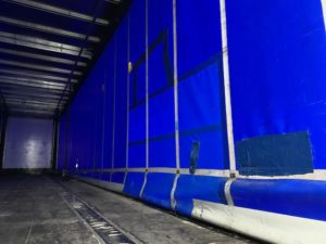2017 Montracon Curtainsider. 4.2m External Height, 2.57m Internal Height, BPW Axles, Drum Brakes, Wisa Deck Floor, Barn Doors, Pillarless, Raise Lower Valve Facility.