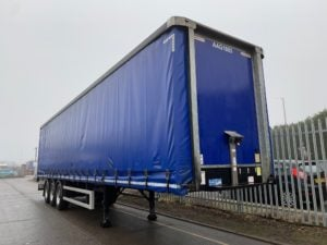 2017 Montracon Curtainsider. 4.2m External Height, 2.57m Internal Height, BPW Axles, Drum Brakes, Wisa Deck Floor, Barn Doors, Pillarless, Raise Lower Valve Facility.