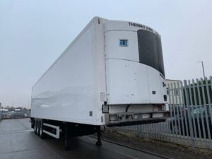 2017 SOR Dual Temp Fridge Trailer. Thermoking SLXi Spectrum Engine, 2.59m Internal Height, BPW Axles, Drum Brakes, Resin Floor, Barn Doors, 2 x Load Lock Rails, Raise Lower Valve Facility.