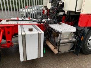 2012 Daf CF85. Euro 5, 510bhp, Single Sleeper Space Cab, Manual Gearbox, Fridge, PTO, Lightweight Mid Lift Axle, Low Mileage.