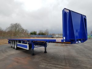 Brand New 2020 Dennison PSK Flat Trailer. 13.6m Tri Axle, 12 x Post & Sockets, BPW Axles, Drum Brakes, Keruing Floor, Tool Box, Raise Lower Valve Facility, ENXL Rated Headboard, Sideguard Infills. Full Manufacturer Warranty Applies.
