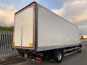 2016 (66) DAF Boxvan. 18 Tonne, Dhollandia Tuckunder Tailift (1500KG Capacity), 28 Foot Body, Single Sleeper Cab, Euro 6, AS Tronic Automatic Gearbox, Choice & Warranty Available.