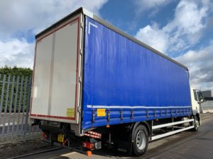 2016 (66) Daf Curtainsider, 18 Tonne, Dhollandia Tuckunder Tailift (1500KG Capacity), 27 Foot Body, Euro 6, 250bhp, AS Tronic Automatic Gearbox, Tailift Barriers, Low Mileage, Xtra Comfort Mattress, Choice & Warranty Available.