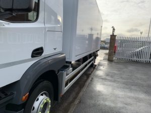 2018 Mercedes Actros Fridge. 18 Tonne, Carrier Supra 1150 Engine, Dhollandia Tuckunder Tailift (2000KG Capacity), Single Sleeper Cab, Euro 6, Automatic Gearbox, 240bhp, Only 57,716km  Choice & Warranty Available.