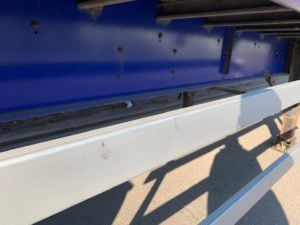 2015 Cartwright Curtainsider. 4.2m External Height, 2.64m Internal Height, BPW Axles, Drum Brakes, Wisa Deck Floor, Barn Doors, 4 x Side Posts, Raise Lower Valve Facility.