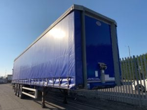 2015 Cartwright Curtainsider. 4.2m External Height, 2.64m Internal Height, BPW Axles, Drum Brakes, Wisa Deck Floor, Barn Doors, 4 x Side Posts, Raise Lower Valve Facility.