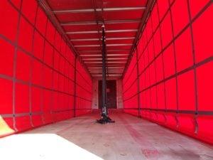 2012 SDC Curtainsider. 4.21m External Height, 2.59m Internal Height, SAF Axles, Drum Brakes, Keruing Floor, Flush Doors, 2 x Side Posts, Internal Straps, Raise Lower Valve Facility.