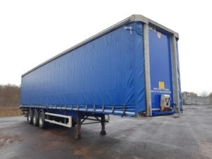 2015 Tiger Curtainsider. 4.2m External Height, 2.6m Internal Height, BPW Axles, Drum Brakes, Wisa Deck Floor, Barn Doors, ENXL Rated Body, Dhollandia Tuckaway Tailift (2000kg Capacity) Raise Lower Valve Facility.