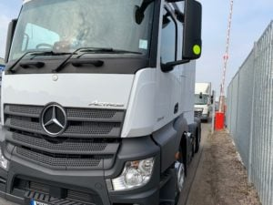 2018 Mercedes Actros 2545, Euro 6, 450bhp, Streamspace Single Sleeper Cab, Automatic Gearbox, Air Con, Steering Wheel Controls, Radio/USB, Low Mileage, Choice & Warranty Available.