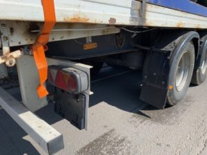 Stack of 5 Flatbed Trailers for Export, Mixture of ages ranging from 1998 to 2005, 13.6m Overall Length, All Steel Construction, Welded & Banded to shipping standards, Delivery to UK Port included.