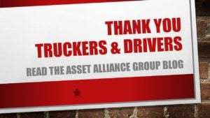 Thank you to Truckers and Drivers