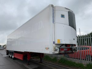 2014 Gray & Adams Single Temp Fridge, Thermoking SLXe 300 Engine, 2.59m Internal Height, BPW Axles, drum Brakes, Aluminium Floor, Barn Doors, Raise Lower Valve Facility, Alloy Wheels, Choice Available.