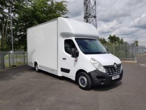 2018 Renault Master Maxi Mover, Euro 6, Manual Gearbox, 94,677 miles, Truck Craft Body, Barn Doors, 2 x Load Lock Rails, 3 Seats, 03/21 MOT, Choice Available.
