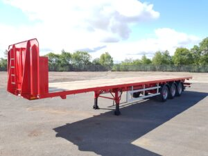 Brand New 2020 Dennison FLat Trailer, Timber Spec, 13.6m Tri Axle, BPW Axles, Drum Brakes, Keruing Floor, Post & Socket, ENXL Rated Headboard, Hazchem Board, Rear Storage Tray, Ferry Rings, Front & Rear Ladder, Full Manufacturers Warranty Available.