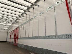 4.25m External Height, 2.26m Internal Height, SAF Axles, Drum Brakes, Wisa Deck Floor, Flush Doors, Sliding Mavis Rail, Tear Drop Roof, Garment Rails, Raise Lower Valve Facility.