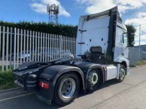 2016 (66) Mercedes Actros 2545, Euro 6, 450bhp, Streamspace Single Sleeper Cab, Automatic Gearbox, Air Con, Steering Wheel Controls, Radio/USB/Bluetooth, Sliding 5th Wheel, Low Mileage, Choice & Warranty Available.