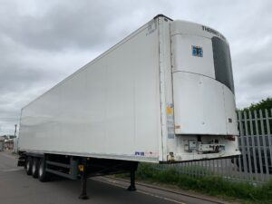 2014 Schmitz Dual Temp Fridge Trailer, Thermoking SLXe Spectrum Engine, 2.59m Internal Height, SAF Axles, Drum Brakes, Aluminium Floor, Barn Doors, 2 x Load Lock Rails, Raise Lower Valve Facility.