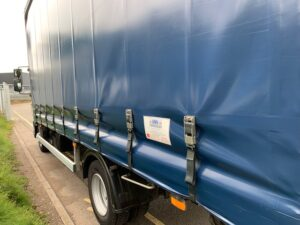 2018 (68) DAF LF Curtainsider, 7.5 Tonne, 180bhp, Euro 6, Automatic Gearbox, Day Cab, DEL Tuckunder Tailift (1000kg Capacity), Barn Doors, Very Low Mileage - 51,000km, Warranty Available.