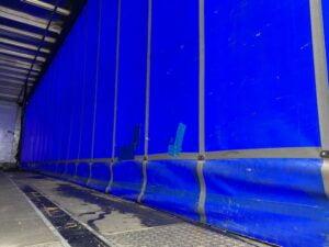 2017 Montracon Curtainsider, 4.5m External Height, 2.84m Internal Height, BPW Axles, Drum Brakes, Wisa Deck Floor, Barn Doors, Internal Straps, Pillarless Body, Toolbox, Raise Lower Valve Facility.