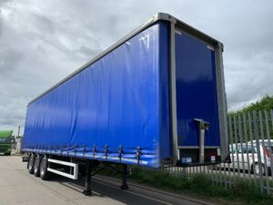2017 Montracon Curtainsider, 4.5m External Height, 2.84m Internal Height, BPW Axles, Drum Brakes, Wisa Deck Floor, Barn Doors, Internal Straps, Pillarless Body, Toolbox, Raise Lower Valve Facility.