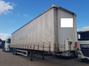 2002 Montracon Curtainside Trailer, Tandem Axle, 4.2m External Height, 2.65m Internal Height, BPW Axles, Disc Brakes, Wisa Deck Floor, Barn Doors, Raise Lower Valve Facility, 2 x Side Posts.