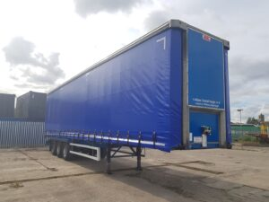 2015 SDC Curtainsider, 4.48m External Height, 3m Internal Height, SAF Axles, Drum Brakes, Keruing Floor, Barn Doors, Ferry Rings, Lashing Rings, Internal Straps, Raise Lower Valve Facility, ENXL Rated.