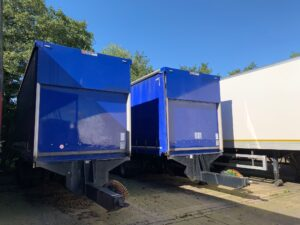 2015 Lawrence David Curtainside Drawbars, 2.14m Internal Height, BPW Axles, Drum Brakes, Block Floor, Barn Doors, 19.5 Inch Wheels, Raise Lower Valve Facility, Choice Available.