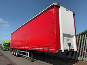 2016 SDC Curtainsider, Sliding Roof, 4.51m External Height, 2.97m Internal Height, BPW Axles, Drum Brakes, Keruing Floor, Flush Doors, Side Posts, Raise Lower Valve Facility.