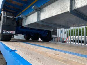 Brand New 2020 Dennison Heavy Duty Flat Trailer, 13.6m Tri- Axle, BPW Axles, Drum Brakes, Keruing Floor, 12 x Post & Sockets, Raise Lower Valve Facility, Ferry Rings, ENXL Rated Headboard, Full Manufacturer Warranty Applies.