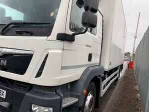 2015 MAN TGM Fridge, 18 Tonne, Dhollandia Tuckunder Tailift (1500kg Capacity), Thermoking Fridge Engine, 250bhp, Euro 6, Automatic Gearbox, Single Sleeper Cab, Resin Floor, Barn Doors, Chereau Body, Load Lock Rails, Camera System Fitted, Steering Wheel Controls, Choice & Warranty Available.