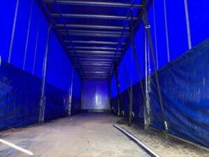 2015 Cartwright Curtainsider, 4.2m External Height, 2.61m Internal Height, BPW Axles, Drum Brakes, Wisa Deck Floor, Barn Doors, Internal Straps, 4 x Side Posts, Raise Lower Valve Facility.