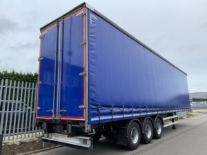 2018 Montracon Curtainsider, 4.75m External Height, 3.02m Internal Height, 3.25m Rear Door Access, BPW Axles, Drum Brakes, Hydraroll Floor, Barn Doors, Internal Straps, Raise Lower Valve Facility.