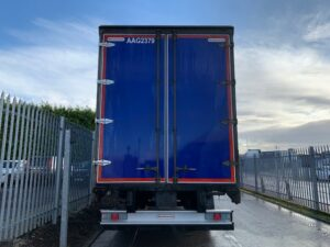 2018 Montracon Curtainsider, 4.2m External Height, BPW Axles, Drum Brakes, Wisa Deck Floor, Barn Doors, Internal Straps, Pillarless Body, Raise Lower Valve Facility.