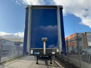 2017 Montracon Curtainsider, 4.5m External Height, 2.84m Internal Height, BPW Axles, Drum Brakes, Wisa Deck Floor, Barn Doors, Internal Straps, Pillarless Body, Raise Lower Valve Facility.