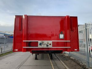 2015 Tiger Stepframe Flat Trailer, SAF Axles Drum Brakes, Wisa Deck Floor, 17.5 Inch Wheels, Supplied with Fresh Body & Wheel Paint, Choice Available.
