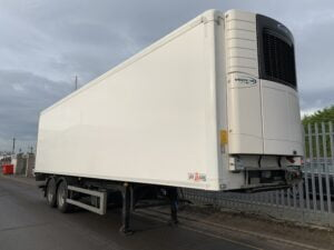 2018 Gray & Adams Dual Temp Fridge Trailer, Carrier Vector 1950Mt Fridge Engine, 8285 Total Hours,4.15m External Height, 2.49m Internal Height, BPW Axles, Drum Brakes, Resin Floor, Barn Doors, Dhollandia Tuckunder Tailift (1500kg Capacity), Raise Lower Valve Facility.