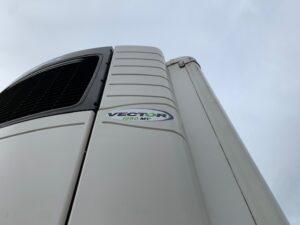 2018 Gray & Adams Dual Temp Fridge Trailer, Carrier Vector 1950Mt Fridge Engine, 8285 Total Hours,4.15m External Height, 2.49m Internal Height, BPW Axles, Drum Brakes, Resin Floor, Barn Doors, Dhollandia Tuckunder Tailift (1500kg Capacity), Raise Lower Valve Facility.