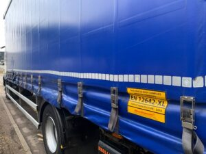 2016 (66) DAF CF Curtainsider, 18 Tonne, Euro 6, 250bhp, AS Tronic Automatic Gearbox, Dhollandia Tuckunder Tailift (1500kg Capacity), 6.9m Wheelbase, 27ft Body, Single Sleeper Cab, Air Con, Steering Wheel Controls, Warranty Available.