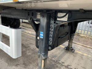 2018 Chereau Dual Temp Fridge Trailer, Thermo King SLXi Spectrum Fridge Engine, 2.59m Internal Height, SAF Axles, Drum Brakes, Resin Floor, Barn Doors, Raise Lower Valve Facility.