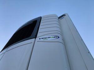 2017 Krone Single Temp Fridge Trailer, Carrier Vector 1550 Fridge Engine, 4.08m External Height, 2.6m Internal Height, BPW Axles, Drum Brakes, Aluminium Floor, Barn Doors, Load Lock Rails, Raise Lower Valve Facility.
