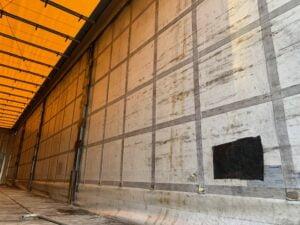 2012 Krone Coil Liner, 4m External Height, 2.6m Internal Height, BPW Axles, Drum Brakes, Wisa Deck Floor, Flush Doors, Internal Posts, Lashing Rings, Raising Roof, Raise Lower Valve Facility.