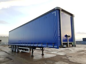 2018 Montracon Curtainsider, 4.2m External Height, 2.58m Internal Height, BPW Axles, Drum Brakes, Wisa Deck Floor, Barn Doors, Internal Straps, Pillarless Body, Raise Lower Valve Facility.