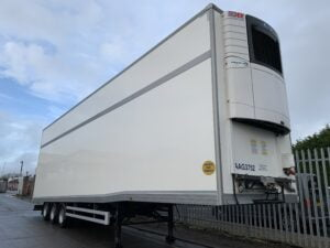 2018 Transdek Fridge Trailer, 4.95m External Height, BPW Axles, Drum Brakes, Resin Floor, Roller Shutter Doors, 19.5 Inch Wheels, Carrier Vector 1950 Fridge Engine, Raise Lower Valve Facility, 1.86m Internal Height (Lower Deck), 1.83m Internal Height (Upper Deck), Choice Available.