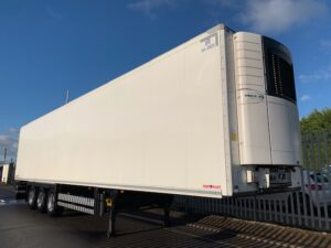 2019 Schmitz Single Temp Fridge Trailer, Carrier Vector 155o Fridge Engine, 2.59m Internal Height, SAF Axles, Drum Brakes, Aluminium Floor, Barn Doors, 2 x Load Lock Rails, Raise Lower Valve Facility, Choice Available.