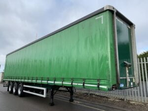 2017 Montracon Curtainsider, 4.2m External Height, 2.59m Internal Height, BPW Axles, Drum Brakes, Wisa Deck Floor, Barn Doors, Internal Straps, Raise Lower Valve Facility.